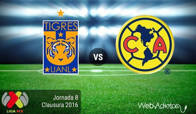 Tigres vs América, Jornada 8 del Clausura 2016 Leon vs