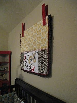 Quilt Clip DIY and a Video | Lobbies, Walls and Quilt display : quilts on the wall - Adamdwight.com