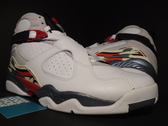 uk availability fcb09 d31ab 2003 NIKE AIR JORDAN VIII 8 RETRO BUGS BUNNY WHITE BLACK RED GREY 305381-101