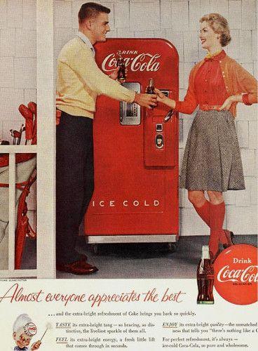1955 Coca Cola Elinor Rowley