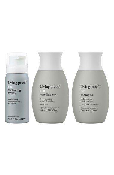 Living Proof Full Travel Kit Usd 36 Value Nordstrom Styling Sprays Damp Hair Styles Beauty Gift