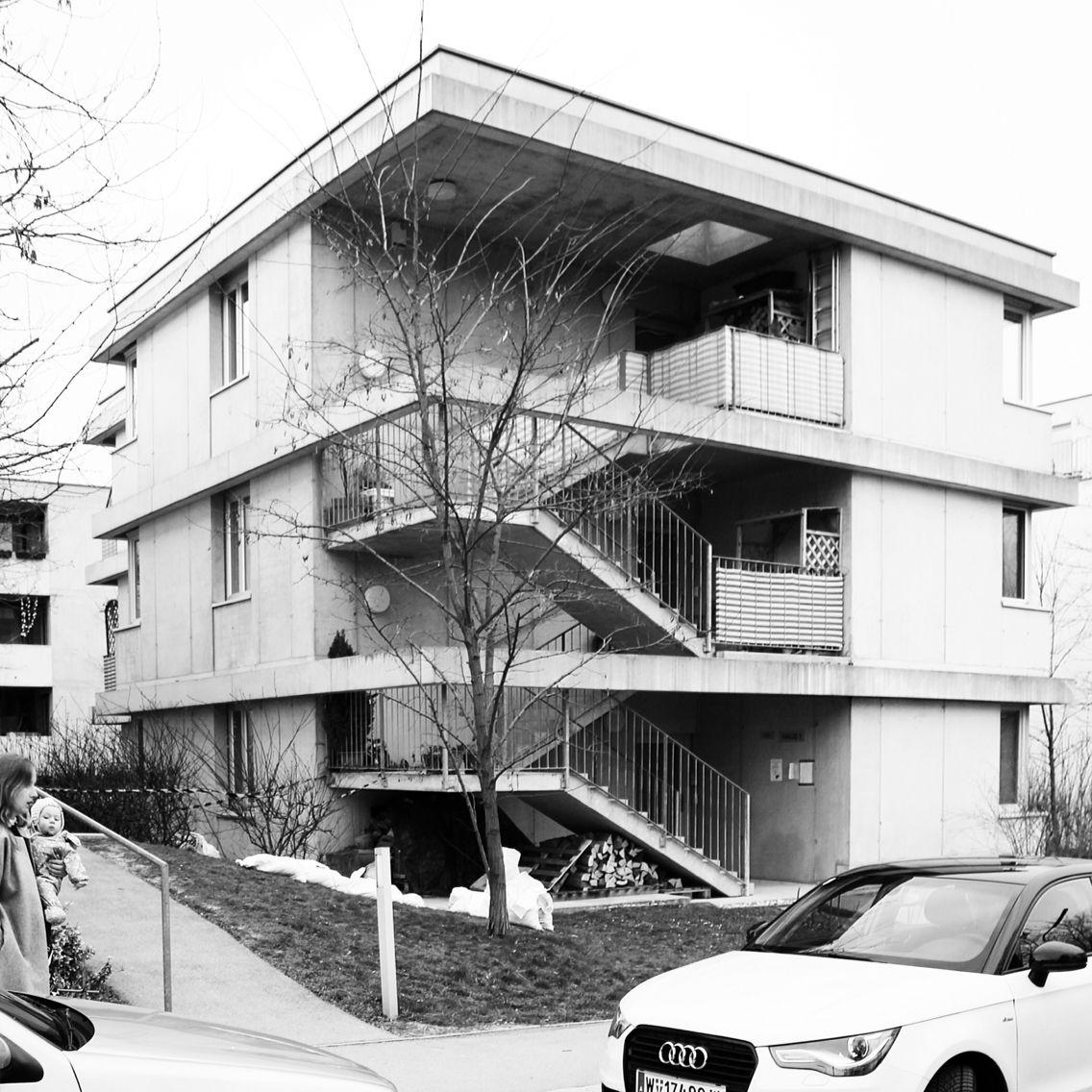 Mustersiedlung Hadersdorf. Adolf Krischanitz, Otto Steidle