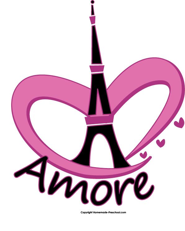 Eiffel tower glitter. Heart fun and free