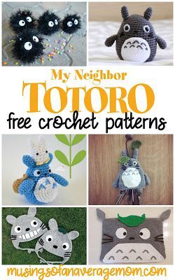 Free Totoro Crochet Patterns – Häkeln