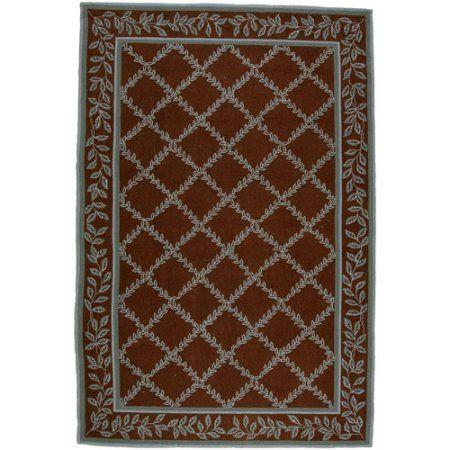 Safavieh Chelsea Alecia Hand Hooked Wool Area Rug, Brown