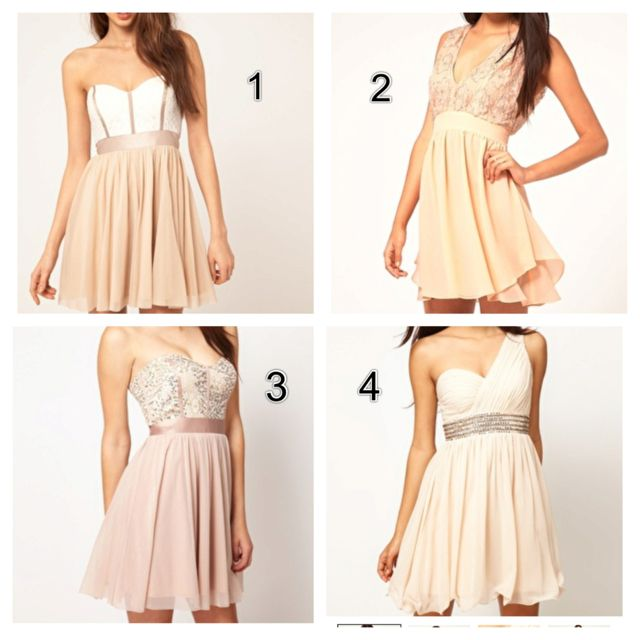 Dress options for the wedding !!