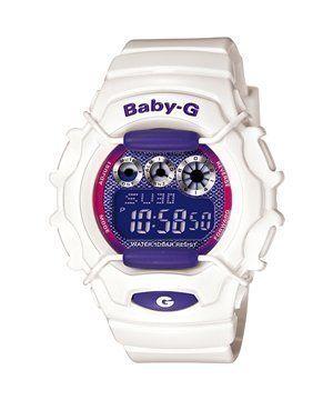 e2a6294866ca Casio Baby G Tough White Metallic Purple Dial Ladies Watch BG1006SA-7B Casio.   80.00