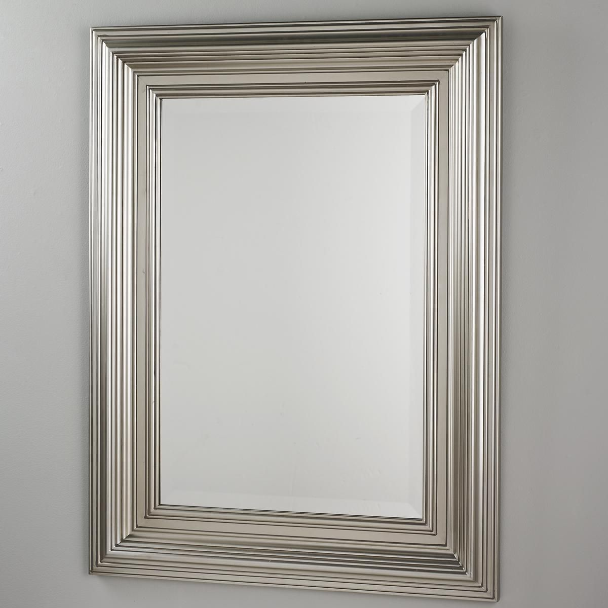 Champagne Silver Wood Frame Mirror | Pinterest