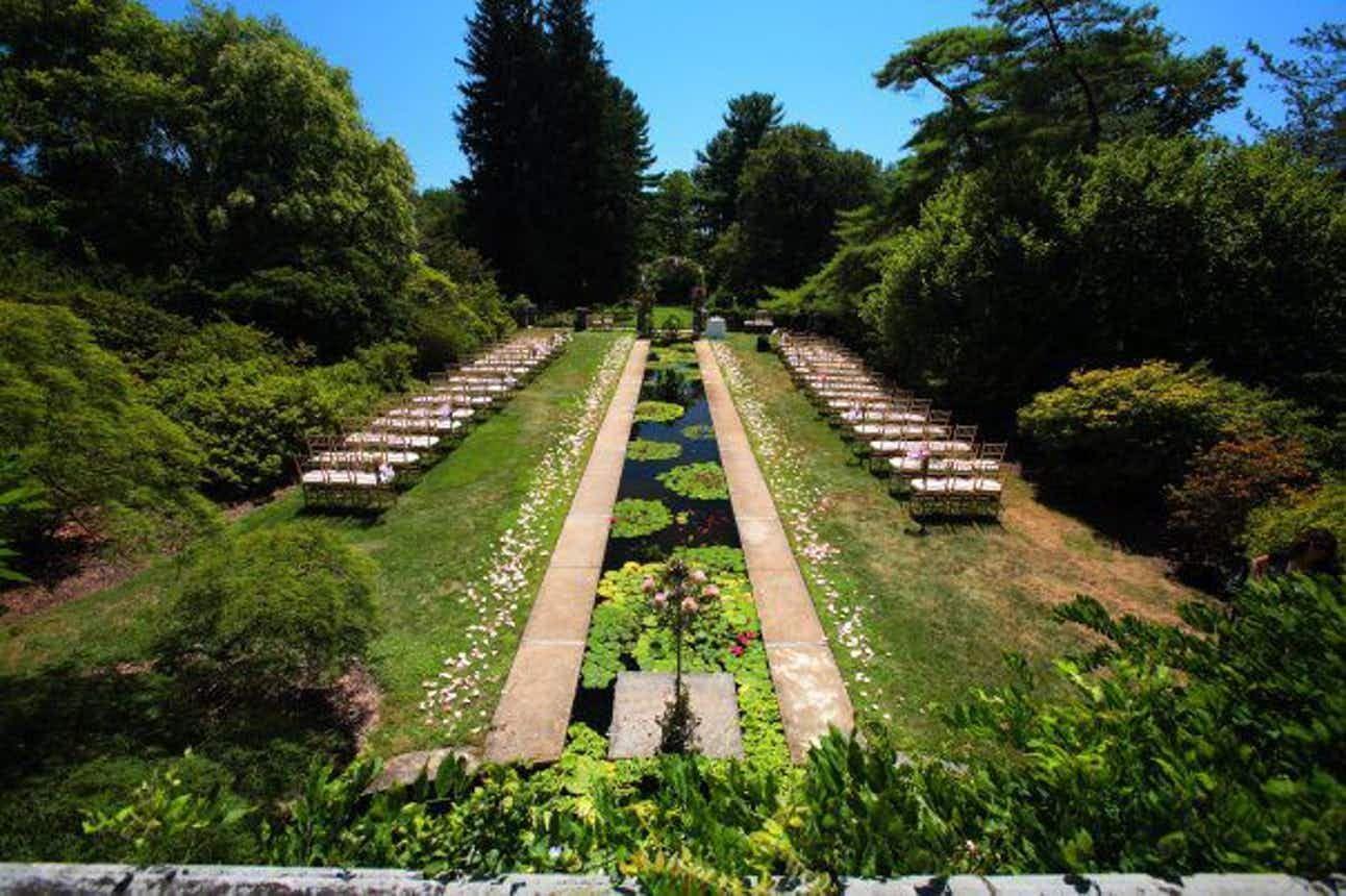 Skylands Weddings Manor New Jersey Botanical Gardens
