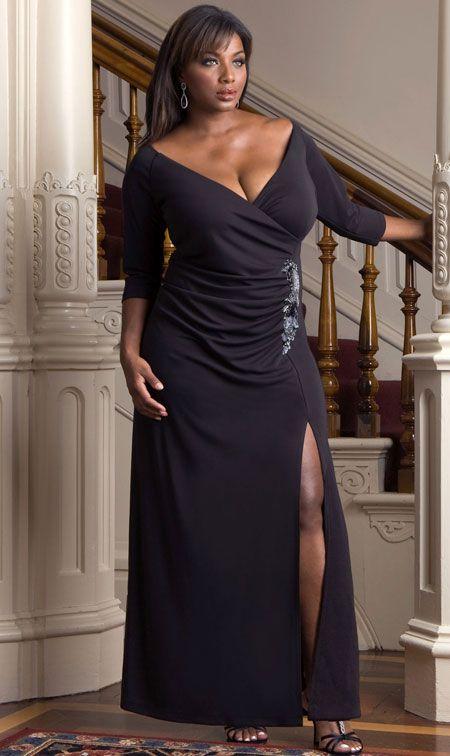 Gorgeous Plus Size Evening Dress   Evening dresses plus size ...