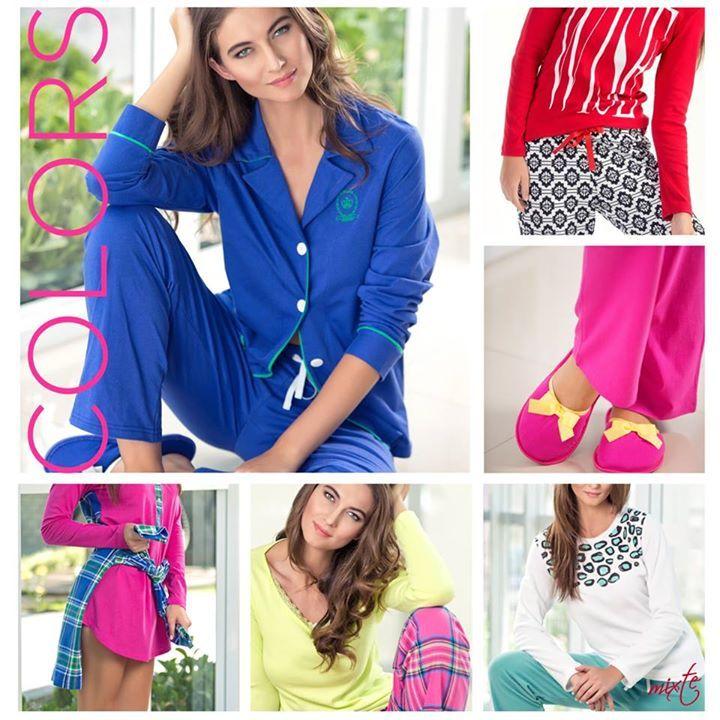 Autumn Colors. Rica paleta de cores para deixar seu outono mais divertido!#mixtepijamas #lindaemcasa #pijamas #modaintima #fallwinter2015 #inverno2015 #conforto #mulher #woman