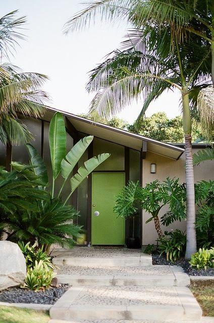 katiedid/..spring green door...