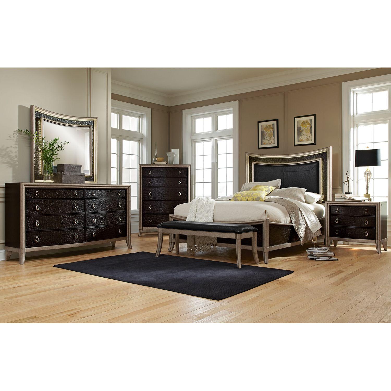 Nicollette Bedroom 6 Pc. Queen Bedroom Value City
