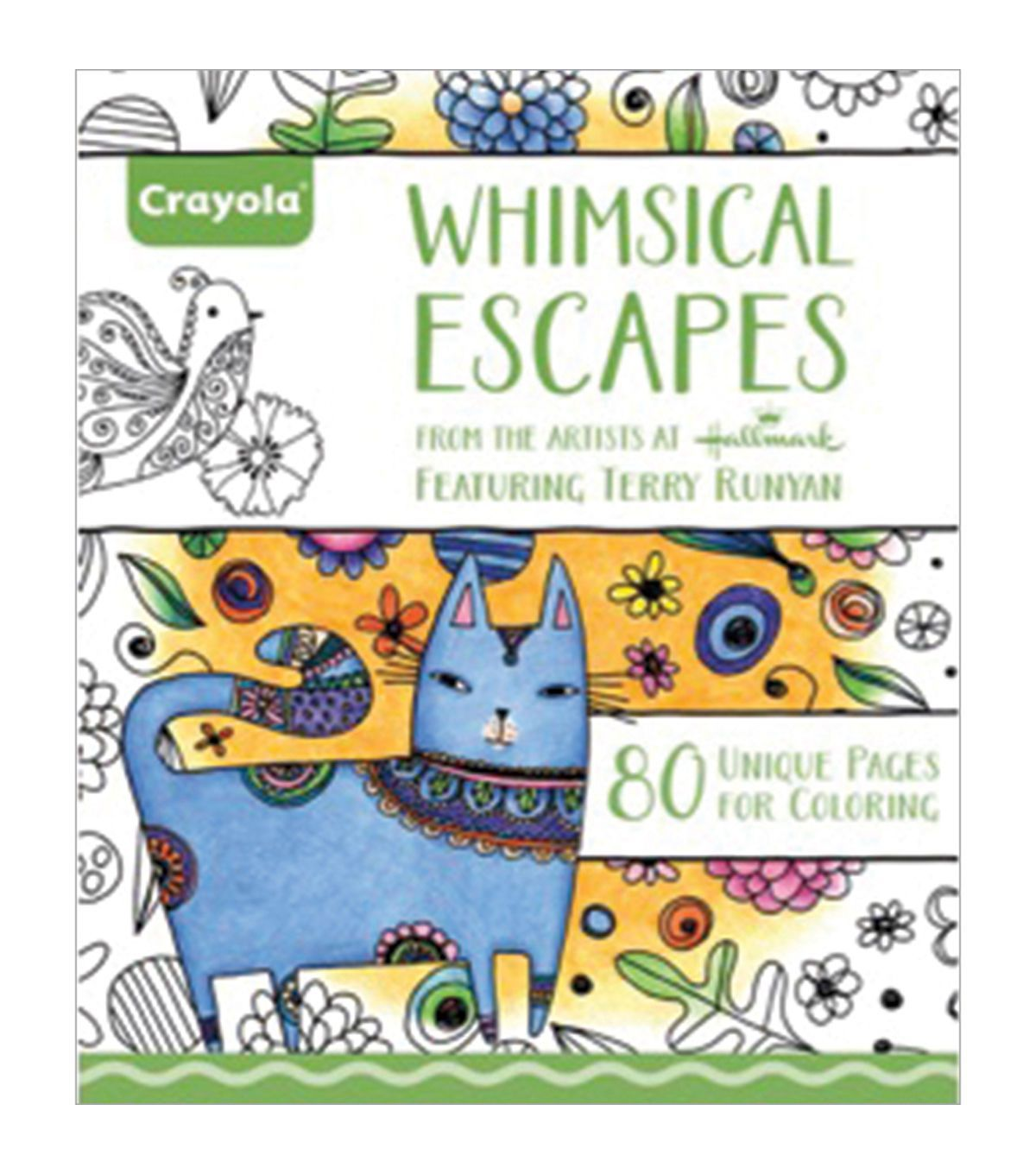 The botany coloring book by paul young - Crayola Whimsical Escapes Coloring Book