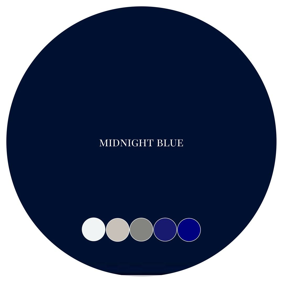 Midnight Blue Hex Color Code
