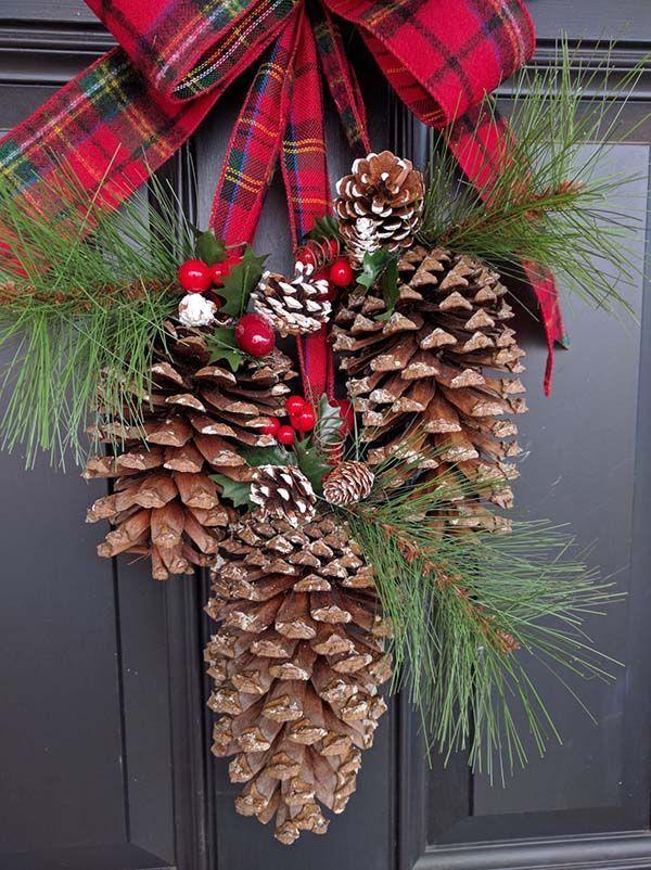 Photo of 26 DIY Weihnachts Tannenzapfen basteln, um den Feiertagen zusätzlichen Charme zu verleihen – Decoração Geométrica