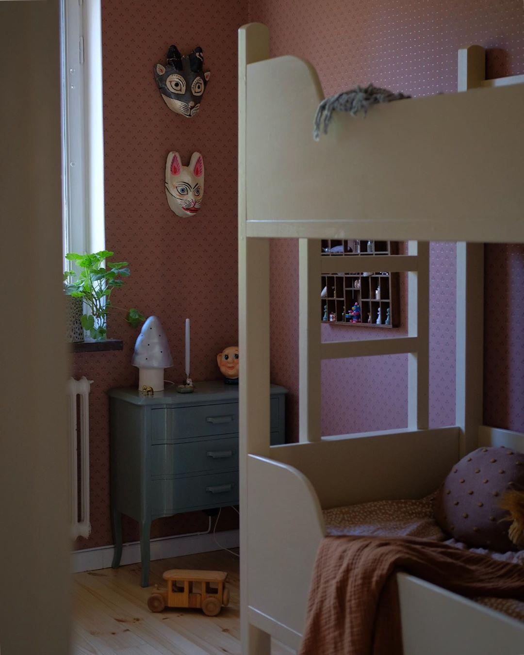 Kids room. #wallpaper #kidsroom… | Bedroom wall colors ...