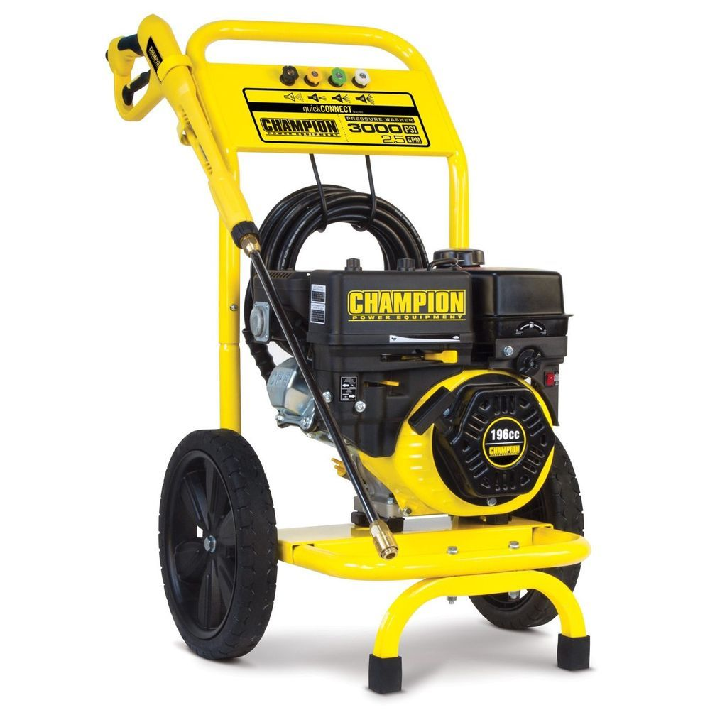 Powered Pressure Washer Gas Outdoor Driveway Sidewalk Cars Boats Hose Dolly NEW #nonbranded