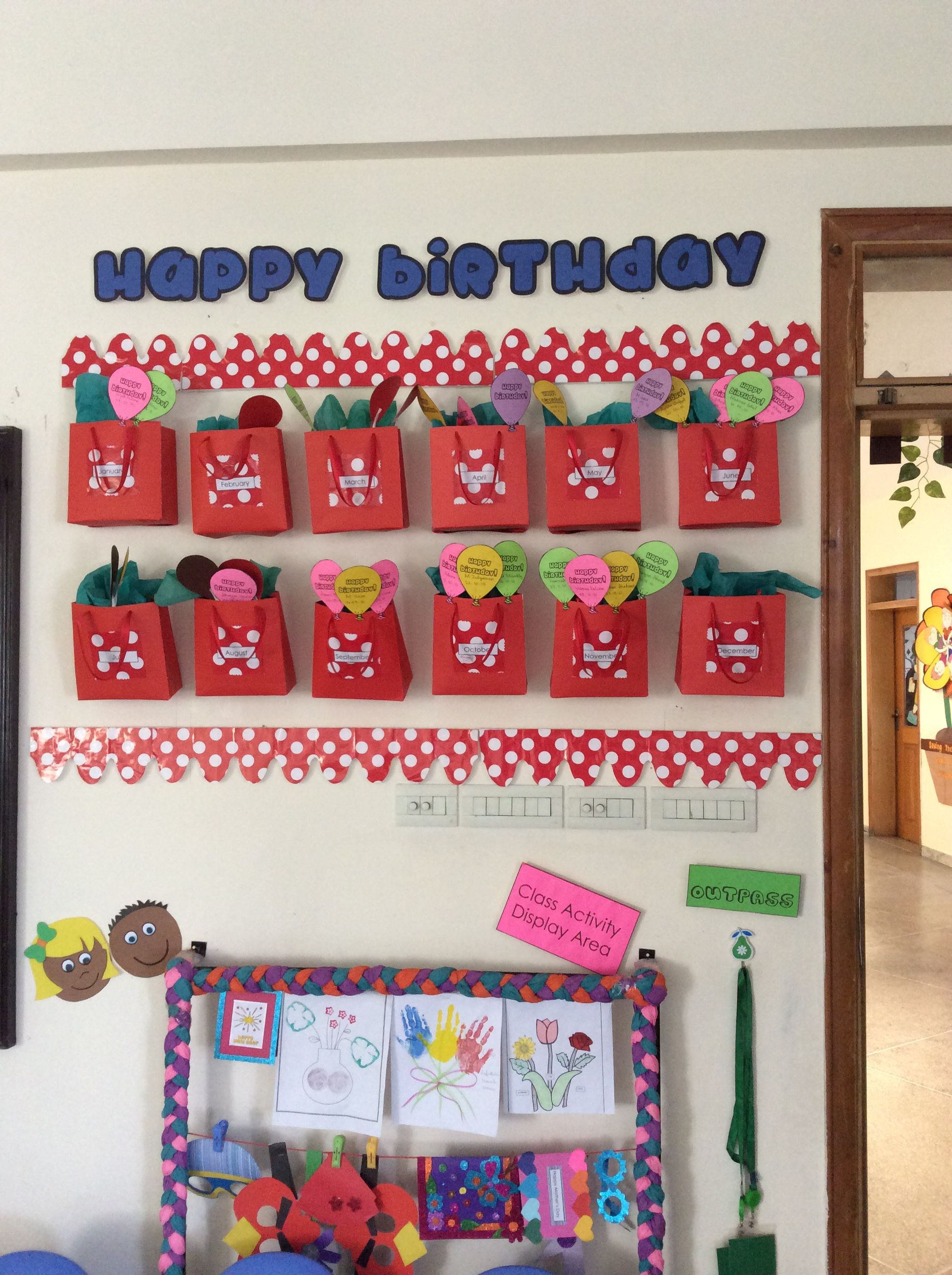 Birthday Corner
