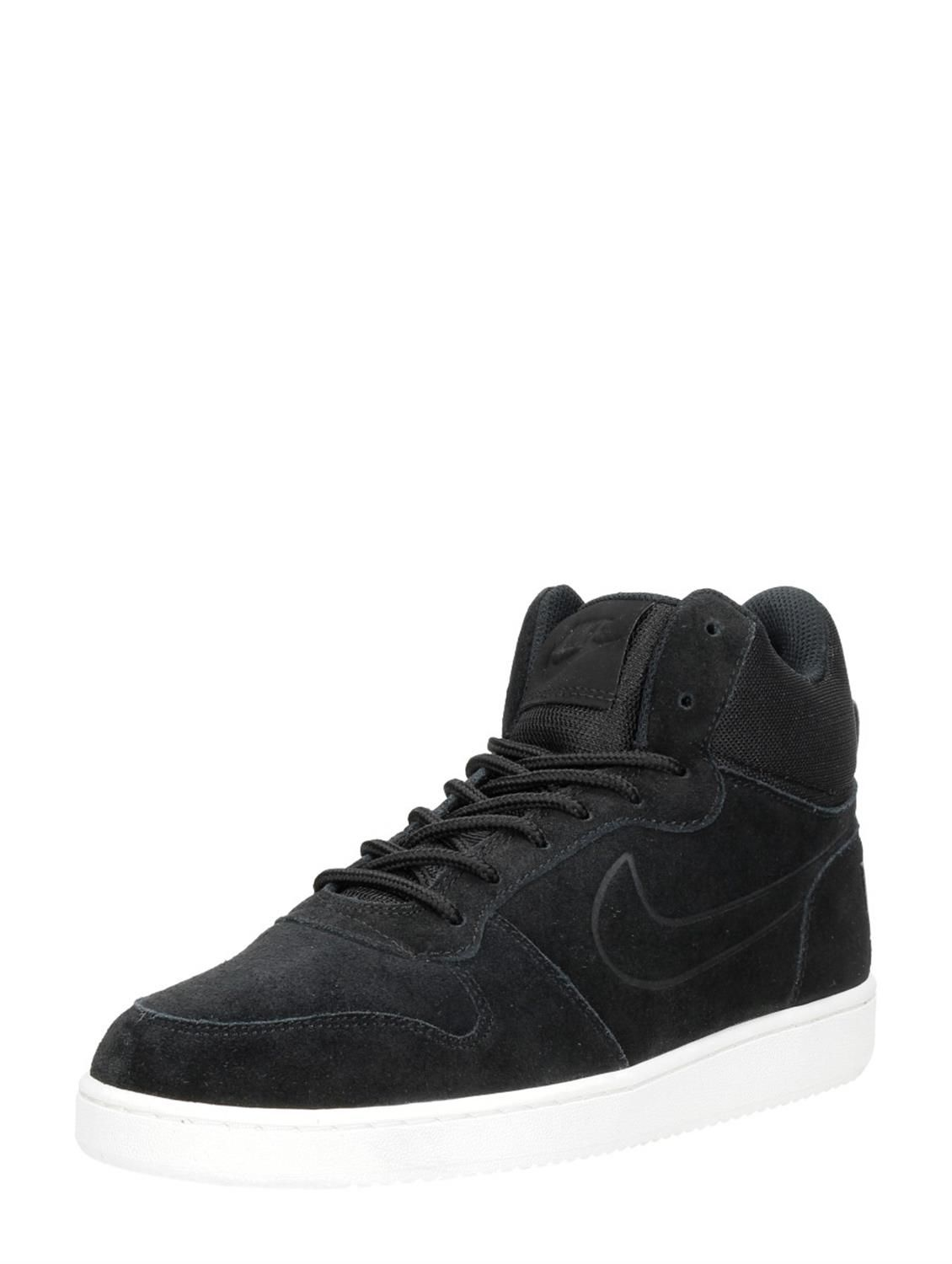 Sneakers Premium Nike Borough Court Hoge Heren Zwart Mid UwwYx
