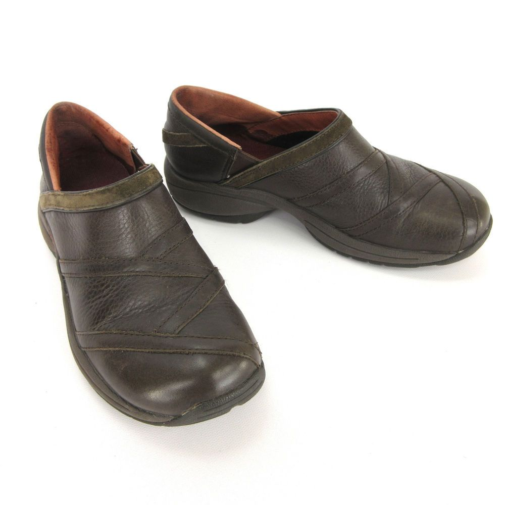 d8dba305 Merrell Womens Shoes 6 Primo Patch Bug Brown Leather Suede Slip On ...