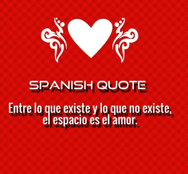 Spanish Love Quotes And Poems For Him Her