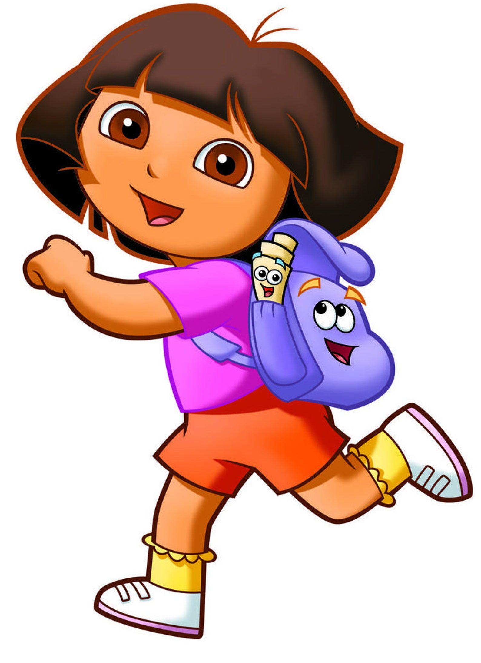 Dora Explorer 5x6 All Color Iron On Transfer Etsy In 2021 Dora Cartoon Dora Wallpaper Dora The Explorer