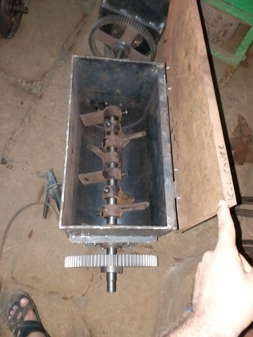 Paddle Type Detergent Cake Mixer Atom Machinery Mfg. Co. Turnkey ...