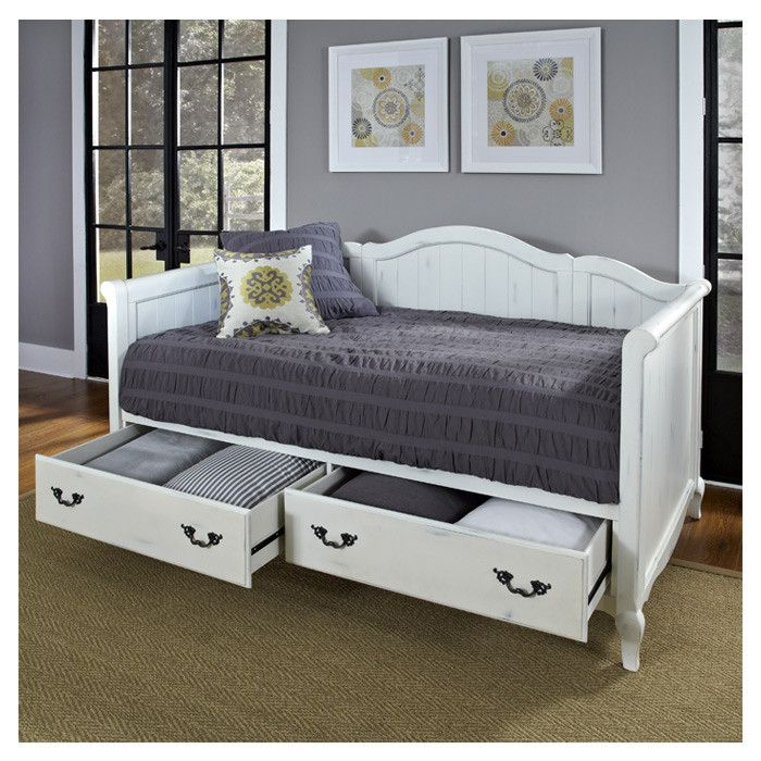 Daybeds are great for a guest room love the storage below Kenz - Daybed Images