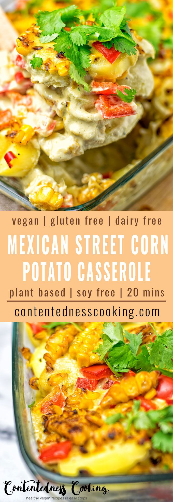 Mexican Street Corn Potato Casserole