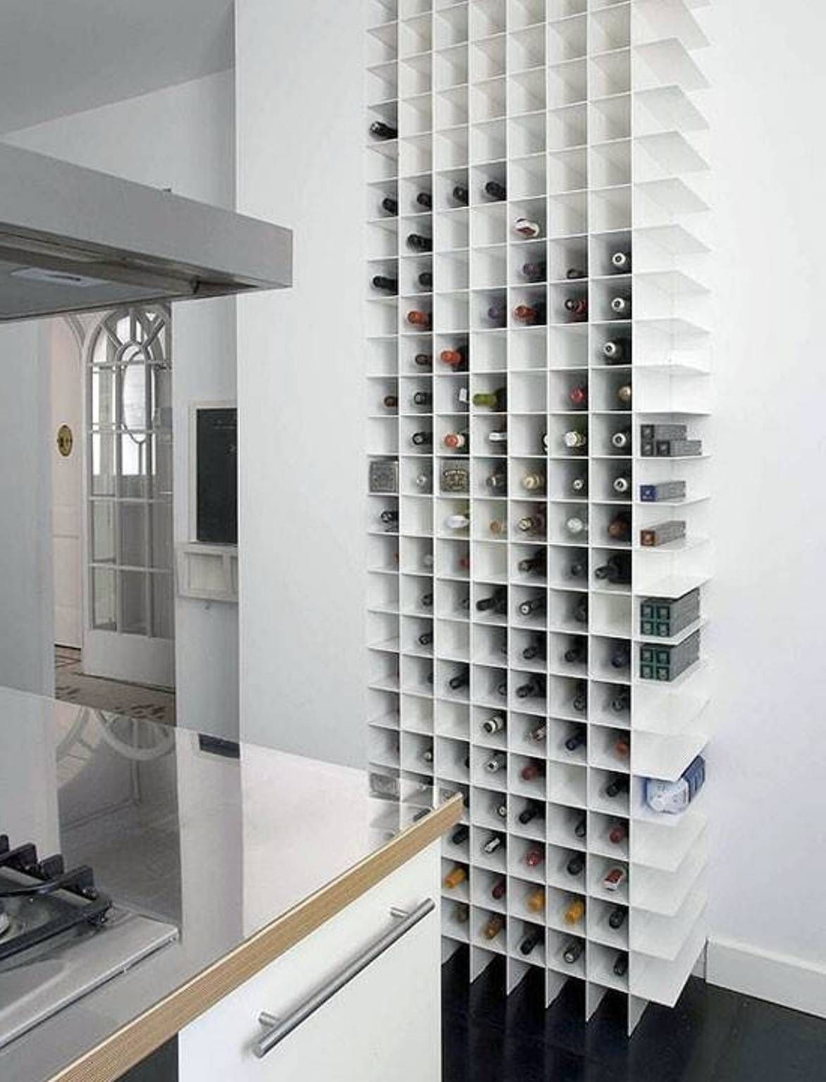 Small Kitchen Storage Solutions Beauteous Organize A Small Kitchen Design With Modern Drinks Storage Ideas