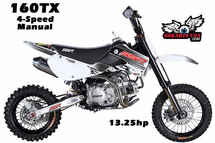 Ssr 160 Tx 4 Speed Manual Clutch Dirt Bike Pit Bike Bike