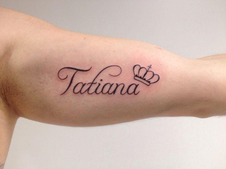 Resultado De Imagen Para Tatiana Nombre Tatuaje Cosas Para Ponerse