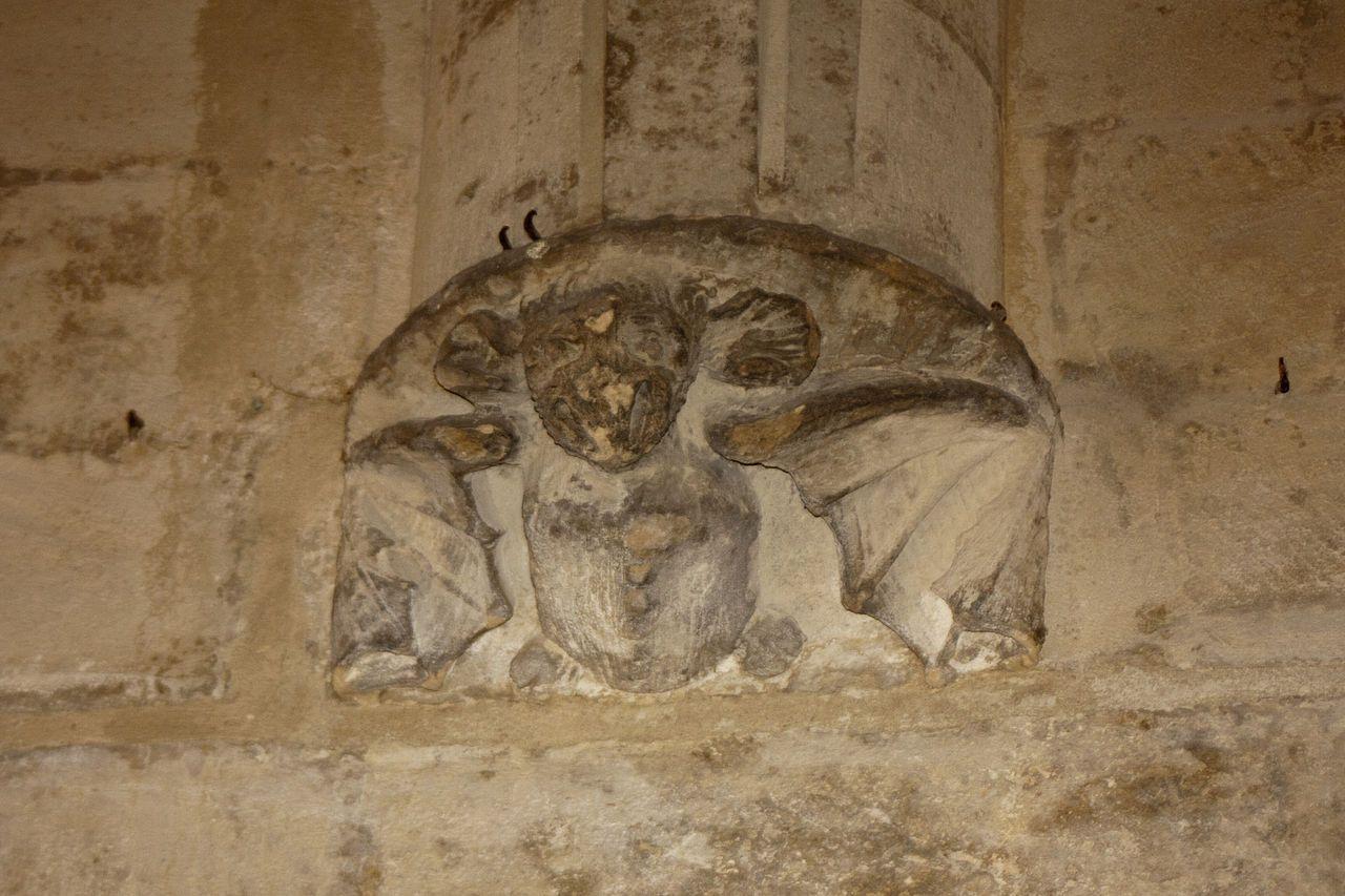 Chambre du roi ren cul de lampe ch teau fort de - Chambre des metiers des bouches du rhone ...