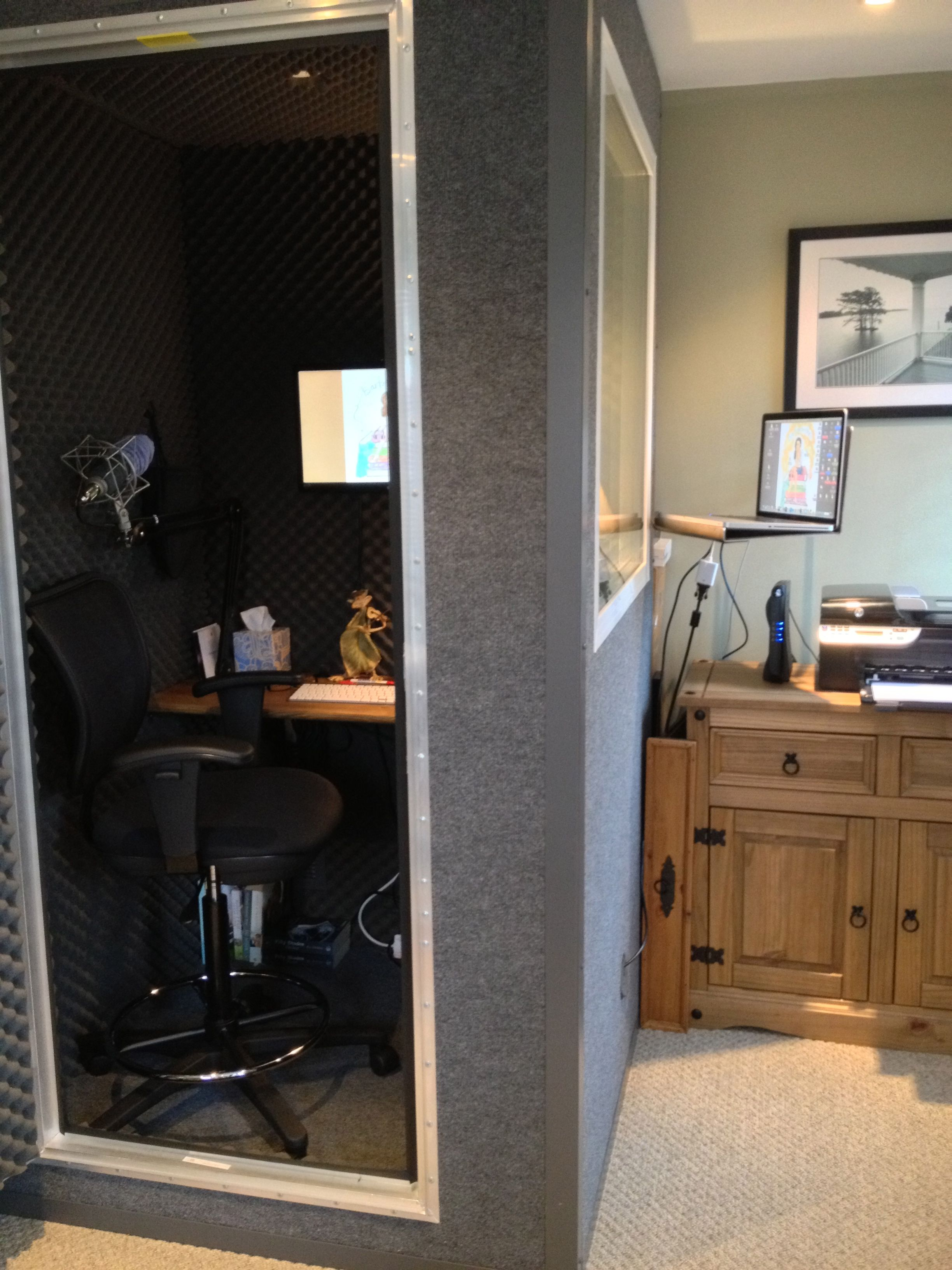 Miraculous Diy Home Studio Recording Booth Ideas Home Studio Recording Largest Home Design Picture Inspirations Pitcheantrous