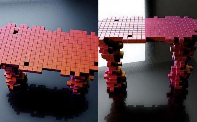 Pixel tables