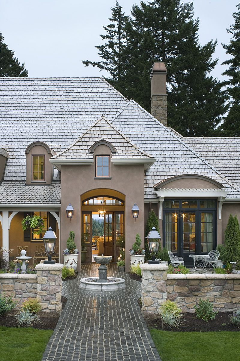 Demere Luxury European Home French Country House French Country Exterior French Country House Plans
