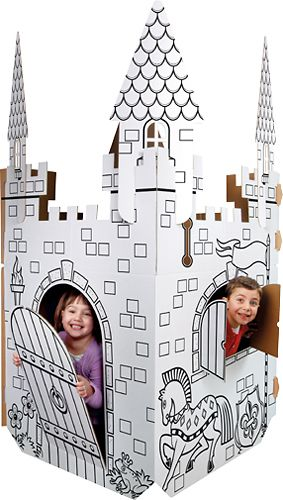 Color Me Cardboard Castle | Kid stuff & education | Pinterest ...