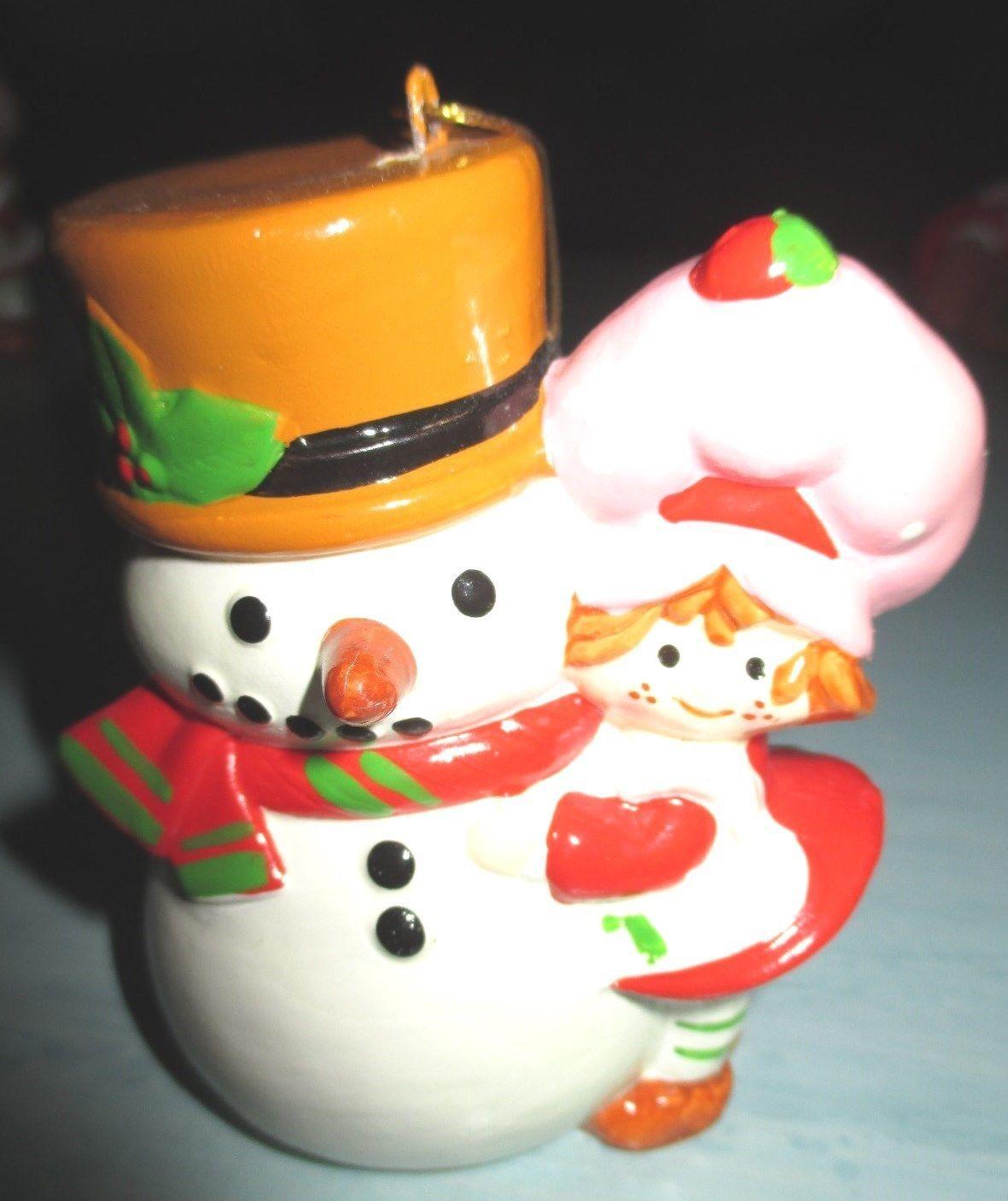 American Greeting Christmas Ornaments Part - 24: Http://www.ebay.com/itm/Vintage-Strawberry- · Vintage Strawberry ShortcakeAmerican  GreetingsSnowmanChristmas Ornament