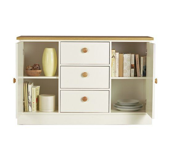 Buy Collection Winchester 2 Door 3Drw Sideboard