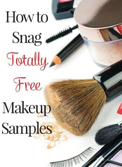 How to Snag FREE Makeup Samples   Get FREE Samples by Mail   Free ...