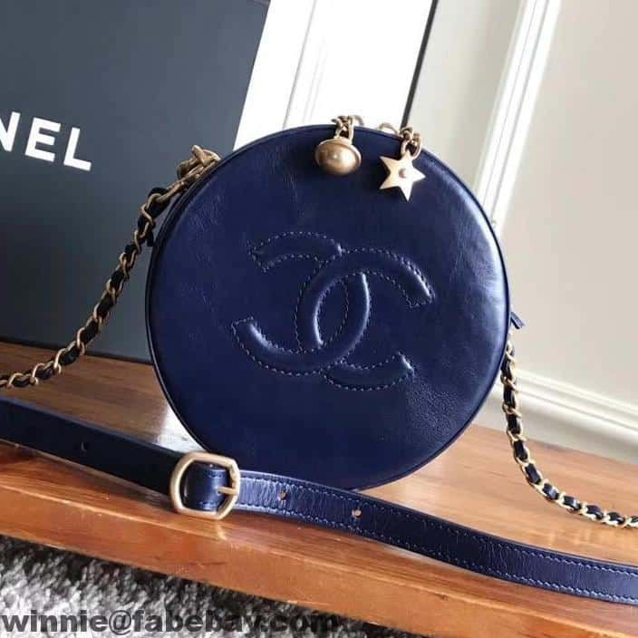 ... email me to get the purchase link. Chanel CC Logo Round Evening Bag  A91946 2017 93855128c8c4b