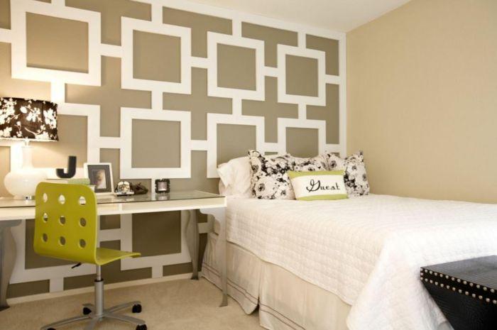 kreative wandgestaltung mit farbe wanddesign ideen sprueche ... - Kreative Wandgestaltung Ideen