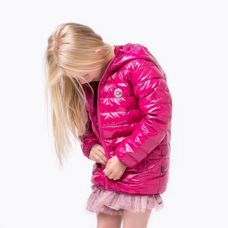 Abrigo Anorak Pluma De Niña Fresa Talla 4 Años Medidas Talla 4 Largo Brazo 38 Largo 47 De Hombro A Hombro Marcas De Ropa Infantil Abrigos Abrigos De Plumas