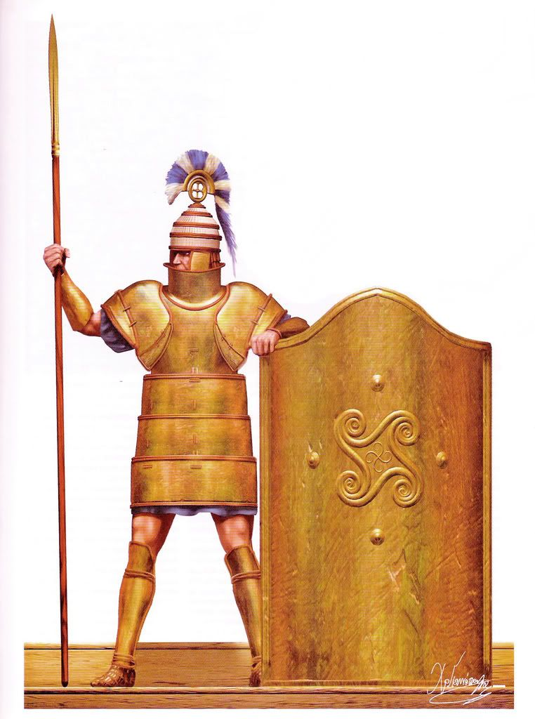 bronze and iron arms and armor History of arms and armour including a stone age spear, the first arms race, bow and arrow, the impact of metal  but the discovery of bronze,.