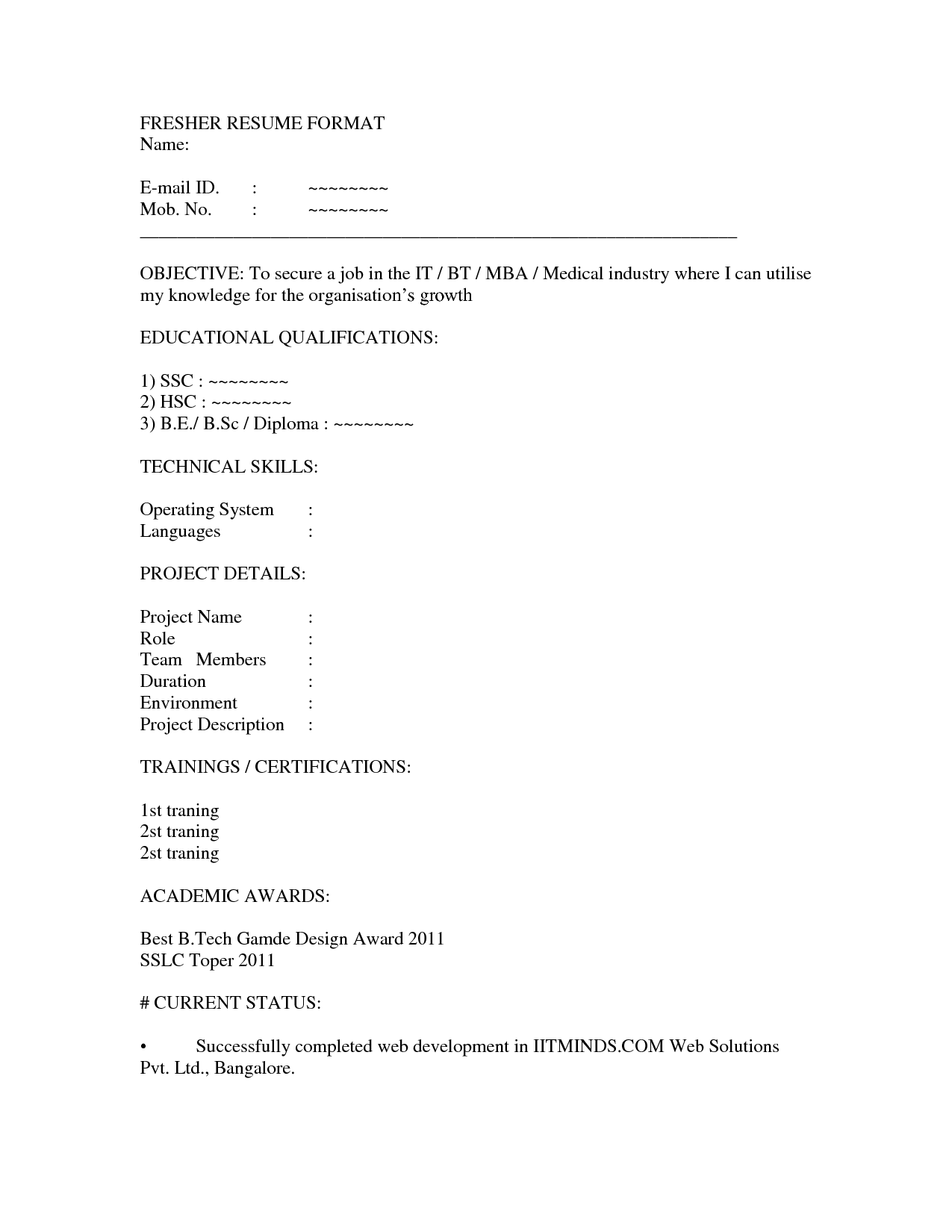 Writing Technical Skills In Resume Talent Agency Intern Cover
