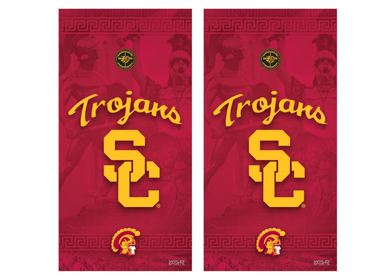 NCAA USCTrojans Southern California Vinyl Shield