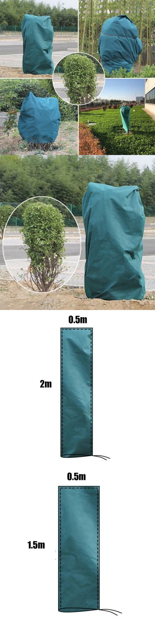 Frost Protection 139001 Winter Warm Worth Plant Cover Yard Garden Tree Shrub Cover Frost Protection Bag Buy It Now Only Garden Trees Plant Covers Shrubs
