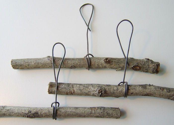Porte manteau fait maison u2013 crochet à la main Shop ideas, Cabin - tour a bois fait maison
