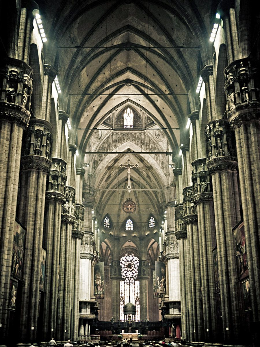 Construction Took 582 Years From 1386 To Second Largest Gothic Cathedral In The World With Highest Nave Adorned Some Sculptures